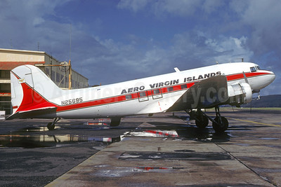 Aero Virgin Islands Douglas DC-3-313B N25695 (msn 4081) (Shorter Airlines colors) STT (Christian Volpati Collection). Image: 920927.