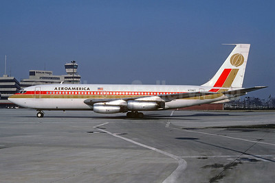 AeroAmerica Boeing 720-027 N736T (msn 18064) TXL (Christian Volpati Collection). Image: 921626.