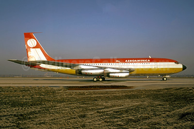 AeroAmerica Boeing 720-027 N733T (msn 18581) TXL (Wolfgang Hoth - Bruce Drum Collection). Image: 949388.