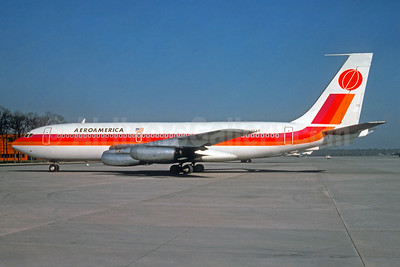 AeroAmerica Boeing 720-027 N734T (msn 18065) (Wolfgang Hoth - Christian Volpati Collection). Image: 932013.