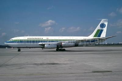 AeroAmerica Boeing 720-027 N730T (msn 18154) TXL (Wolfgang Hoth - Bruce Drum Collection). Image: 947225.