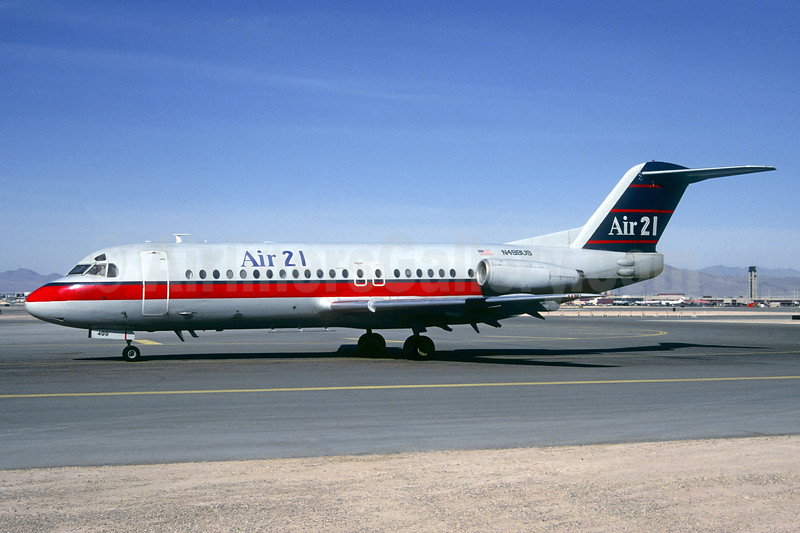 Leased from USAir on February 29, 1996