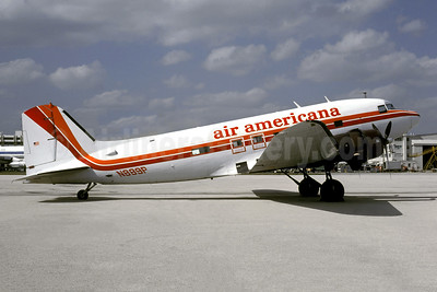 Air Americana Douglas C-53D-DO (DC-3) N889P (msn 11737) MIA (Bruce Drum). Image: 105343.