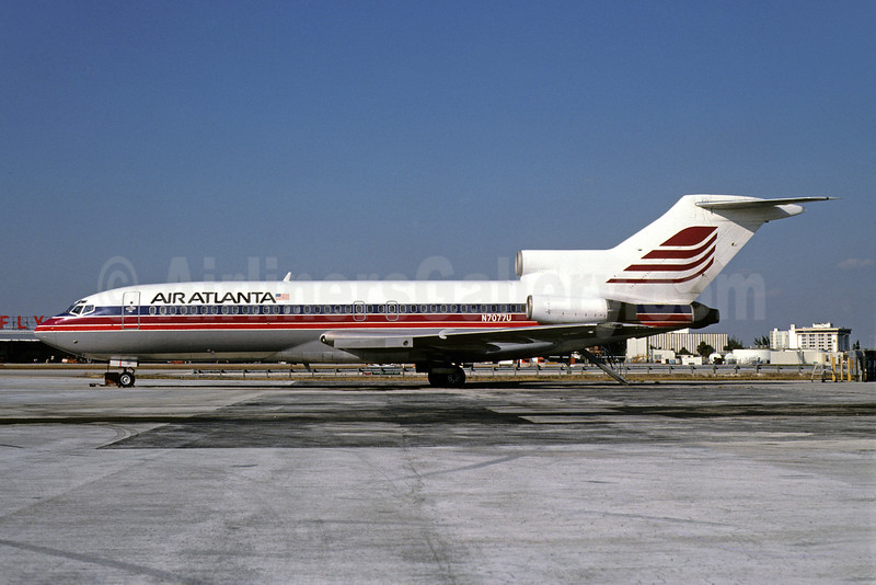 Air Atlanta (USA) Boeing 727-22 N7077U (msn 19141) MIA (Bruce Drum). Image: 102063.