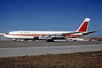Air Berlin USA Boeing 707-331B N8729 (msn 20058) (TWA colors) MCI (Harry Sievers - Fernandez Imaging Collection). Image: 928452.
