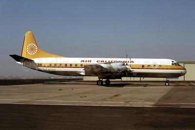Air California Lockheed 188C Electra N123US (msn 1082) SNA (Ron Monroe). Image: 944184.