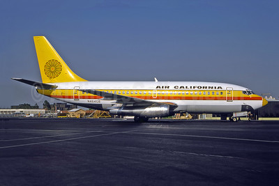 Air California Boeing 737-293 N464GB (msn 19309) SNA (Bruce Drum Collection). Image: 946977.