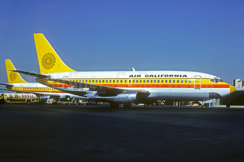 Air California Boeing 737-293 N467GB (msn 19714) SNA (Christian Volpati Collection). Image: 931455.