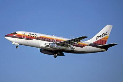 AirCal Boeing 737-293 N464AC (msn 19309) LAX (Ron Monroe). Image: 944186.
