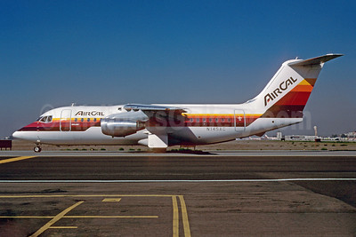 AirCal BAe 146-200 N145AC (msn E2055) SJC (Thomas Livesey). Image: 906573.