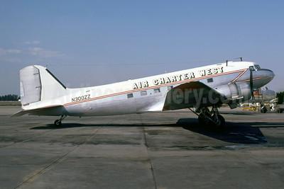 Air Charter West Douglas C-47A-DL (DC-3) N300ZZ (msn 9833) OAK (John I. Whitehead - Bruce Drum Collection). Image: 952376.