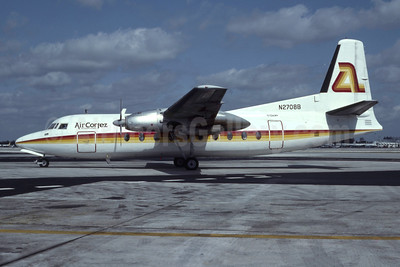 Air Cortez International Fairchild F-27J N2708B (msn 98) MIA (Bruce Drum). Image: 103576.