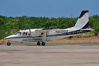 Air Flamenco Britten-Norman BN-2A-9 Islander N905GD (msn 339) SJU (Ken Petersen). Image: 950734.