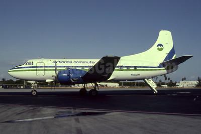 Air Florida Commuter-Marco Island Airways Martin 404 N968M (msn 14159) MIA (Bruce Drum). Image: 105156.