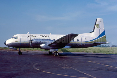 Air Illinois Hawker Siddeley HS.748-2A/FAA N748LL (msn 1716) (Bruce Drum Collection). Image: 922019.