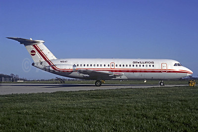 Air Illinois BAC 1-11 203AE N1547 (msn 041) IND (Phil Brooks). Image: 920078.