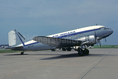 Air Indiana Douglas C-47-DL (DC-3) N37AP (msn 4430) (Pro-Air colors) STL (Christian Volpati Collection). Image: 945584.