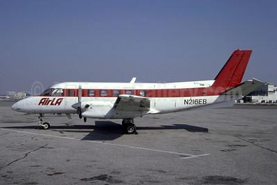 Air LA Embraer EMB-110P1 Bandeirante N216EB (msn 110447) LAX (Stefano Pagiola - Bruce Drum Collection). Image: 951562.