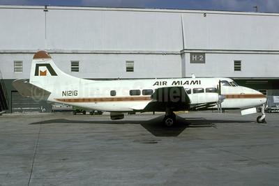 Air Miami de Havilland DH.114 Riley Heron N121G (msn 14063) MIA (Bruce Drum). Image: 105388.