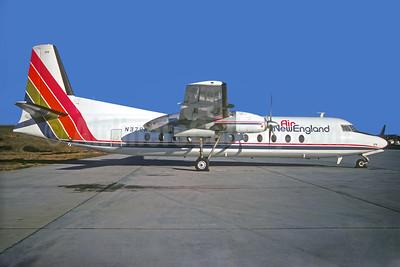 Air New England Fairchild Hiller FH-227C N379NE (msn 516) ATL (Christian Volpati Collection). Image: 931611.