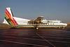 Air New England Fairchild Hiller FH-227C N376NE (msn 507) LGA (Peter C. Mills - Bruce Drum Collection). Image: 922028.