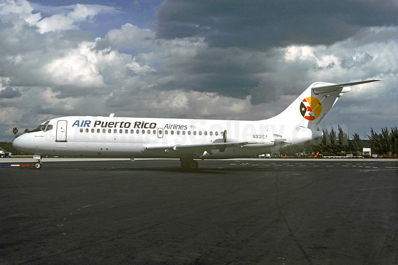 Airline Color Scheme - Introduced 1986, leased from Emerald Air on December 20, 1968