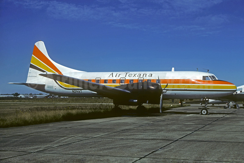 Air Texana Convair 340-68A N24AT (msn 148) (Christian Volpati Collection). Image: 932613.