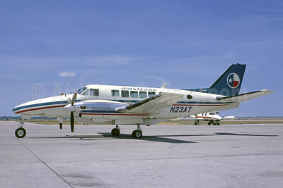 Air Texas Beech 99A Airliner N23AT (msn U-132) (Ted J. Gibson - Bruce Drum Collection). Image: 951125.