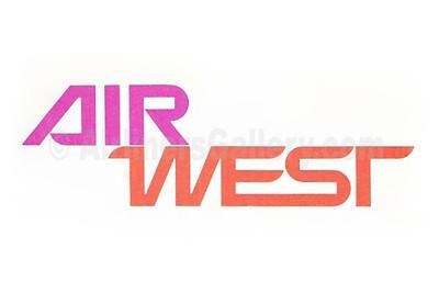 1. Air West logo