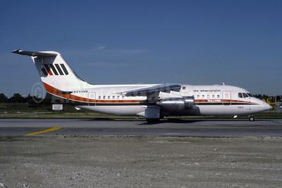 Air Wisconsin BAe 146-200 N604AW (msn E2020) ORD (Ron Kluk). Image: 954732.