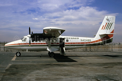 Air Wisconsin de Havilland Canada DHC-6-200 Twin Otter N4048B (msn 125) LAX (Ted J. Gibson - Bruce Drum Collection). Image: 954733.