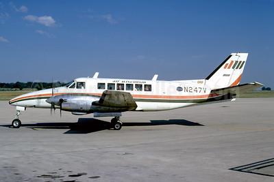 Air Wisconsin Beech 99 Airliner N247V (msn U-102) ATW (Bruce Drum). Image: 103602.