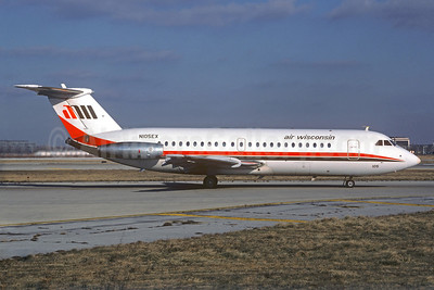 Air Wisconsin BAC 1-11 201AC N105EX (msn 012) ORD (Dave Campbell). Image: 924885.