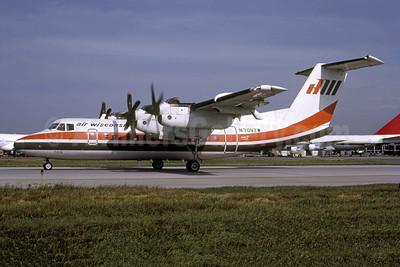 Air Wisconsin de Havilland Canada DHC-7-102 Dash 7 N709ZW (msn 69) ORD (Bruce Drum). Image: 1055756.