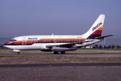 AirCal Boeing 737-247 (msn 19614) SJC (Rob Rindt Collection). Image: 936155.