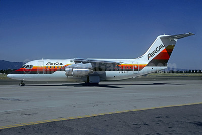 AirCal BAe 146-200 N144AC (msn E2054) (Christian Volpati Collection). Image: 930174.