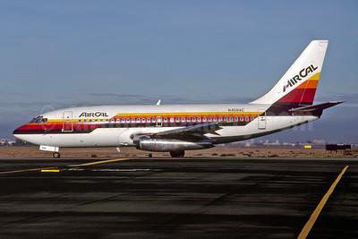 AirCal Boeing 737-222 N459AC (msn 19072) SJC (Thomas Livesey). Image: 946981.
