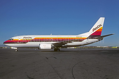 AirCal Boeing 737-3A4 N307AC (msn 23251) SFO (Seymour A. Hills - Christian Volpati Collection). Image: 931456.