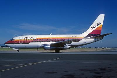 AirCal Boeing 737-297 N725AL (msn 22051) SJC (Bruce Drum). Image: 102067.