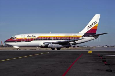 AirCal Boeing 737-244 N754UA (msn 19707) SJC (Thomas Livesey). Image: 946989.
