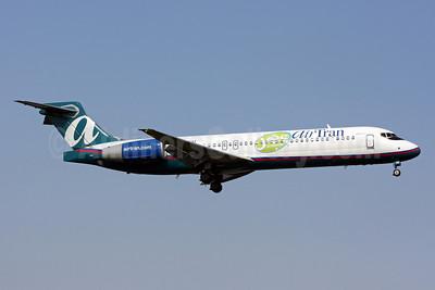 AirTran Airways Boeing 717-2BD N896AT (msn 55048) (Say Yes to Orlando) DCA (Brian McDonough). Image: 901318.