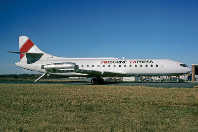 Airborne Express Sud Aviation SE.210 Caravelle 6R (F) N907MW (msn 129) (Christian Volpati Collection). Image: 930416.
