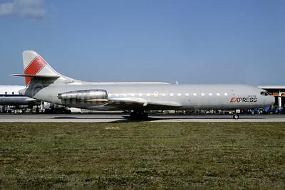 Airborne Express Sud Aviation SE.210 Caravelle 6R (F) N901MW (msn 62) MIA (Bruce Drum). Image: 103605.