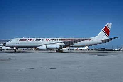 Airborne Express McDonnell Douglas DC-8-62 (F) N801AX (msn 46077) MIA (Nigel P. Chalcraft - Christian Volpati Collection). Image: 936896.