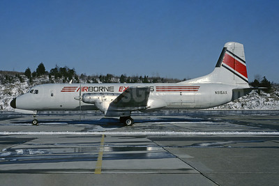 Airborne Express NAMC YS-11A-205 (F) N915AX (msn 2062) (Jacques Guillem Collection). Image: 945735.