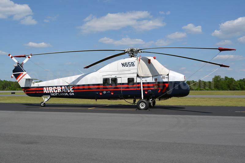 Aircrane Sikorsky S-58 Turbo N65B (msn 1589) JQF (Jay Selman). Image: 402674.