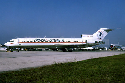 Airline of the Americas Boeing 727-225 N352PA (msn 20616) MIA (Bruce Drum). Image: 103611.