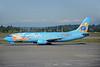 Alaska Airlines Boeing 737-490 N791AS (msn 28886) (Follow Me to Disneyland-50 Years) (Tinkerbelle) SEA (Bruce Drum). Image: 103414.