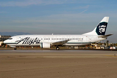 Alaska Airlines Boeing 737-4Q8 N779AS (msn 25111) LAX (Roy Lock. Image: 933056.