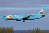 "Alaska Airlines' ""Follow Me to Disneyland"" logo jet"